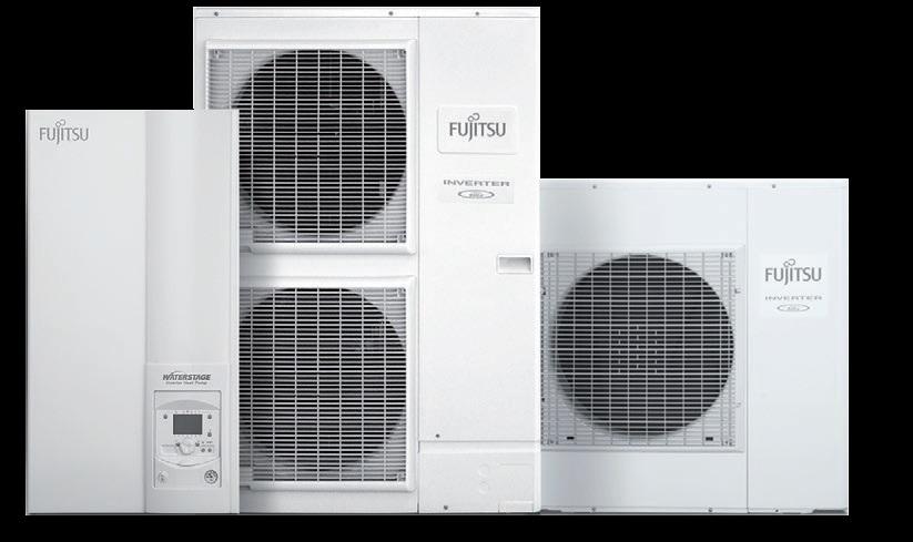 powietrzna pompa ciepła, agregaty zewnętrzne, jednostka wewnętrzna