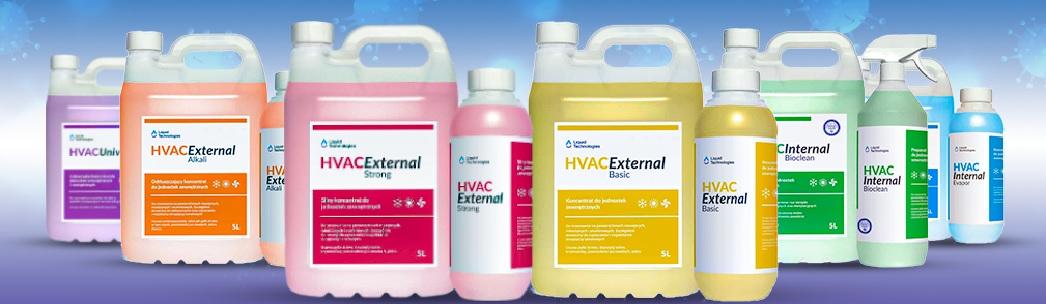 środki do czyszczenia i konserwacji klimatyzacji i wentylacji