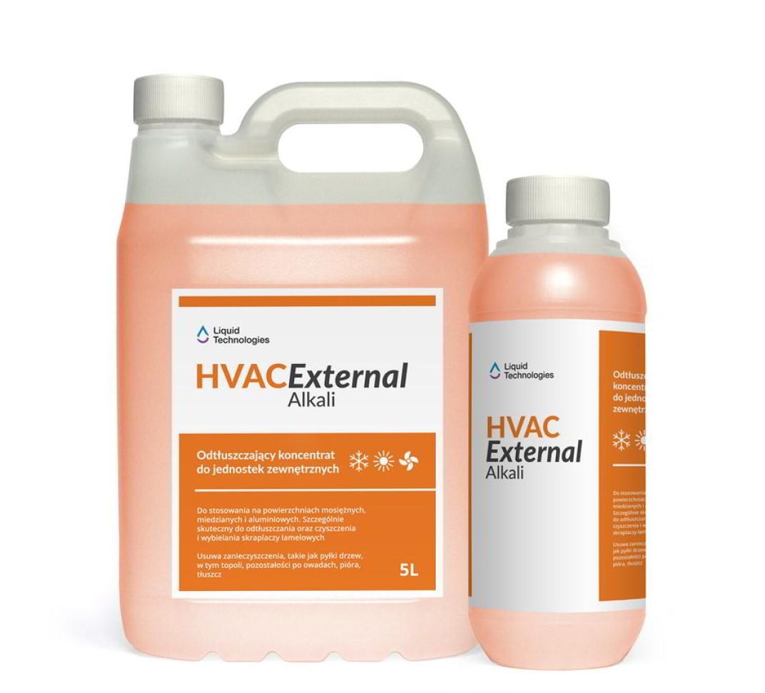 External Alkali odtłuszczający koncentrat do jednostek zewnętrznych klimatyzacji i wentylacji