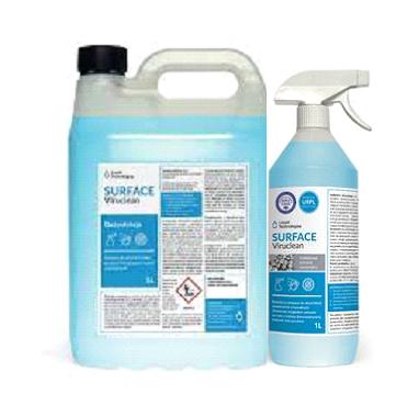 środek do czyszczenia i dezynfekcji HVAC, bakterie, wirusy